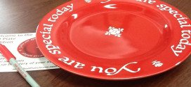Red plate tradition for parents grandparents and grandchildren