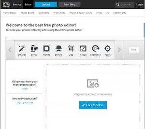 Photobucket Editor